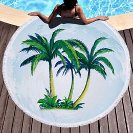 disegni gratuiti per il paesaggio Sconti Asciugamano da spiaggia personalizzato Custom Design Superfine Fiber Landscape Stampa Tassel Free Designs Soft nuoto asciugamano bagno Bikini Cover-up copertura della sedia