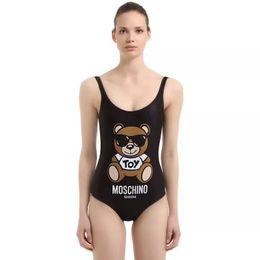 Designer de biquíni swimwear para as mulheres 2019 senhora marca swimsuit biquíni maiô preto branco vermelho swimwear carta impresso sexy maiô de Fornecedores de pele leve sexy