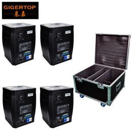 Canada Empilable 4in1 Flight Case Pack Effet d'étape Froid Machine DMX512 pour scène (Sans fil en option) Aucun équipement d'étincelles Offre