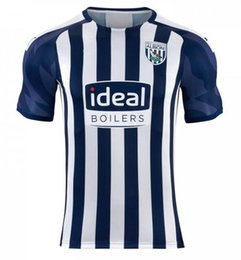 Argentina 2019 2020 wba West Browns Home kit camisa adulto Fútbol Jersey Gayle Rodriguez camiseta de fútbol 19 20 para hombre superior uniforme CAMISETA en ventas supplier west uniform Suministro