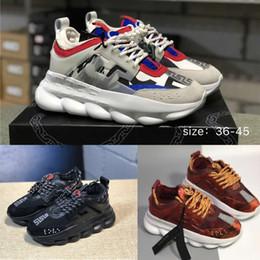 03aca915e Sapatos de grife Reação Em Cadeia Running Shoes Mens Sapatilhas Dos Homens  Sapatilhas Athletic women Casual Sports Shoes tamanho 36-45