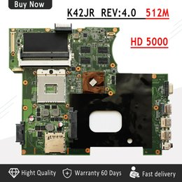 2019 placas base de fru Placa base portátil K42JR REV: 4.0 HD 5000 para ASUS K42JR K42JB K42JZ K42JY placa base DDR3 HM55 REV 4.0 envío gratis