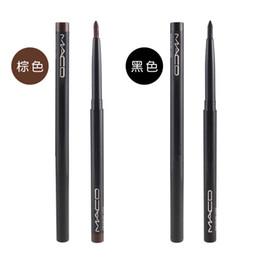 faire pivoter l'eye-liner Promotion Le crayon à sourcils rotatif automatique M marque en gros noir M peut être utilisé comme eyeliner imperméable au saule résistant à la sueur laisse maquillage beauté