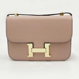 2019 teinture pour cuir H sac femme nouvelle épaule en cuir casual mode tendance hôtesse de l'air oblique embrayage sac dame promotion teinture pour cuir