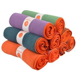 Sacchetto di coperta del yoga online-stuoia di yoga antiscivolo tovagliette stuoie di tovagliolo di yoga caldo stuoia per tappetini di fitness mat copertura borse yoga coperte di alta qualità