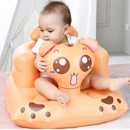 2019 anúncio gigante do balão Assento da cadeira do sofá inflável do bebê das crianças que janta o banheiro Aprenda a sentar o assento portátil BM88