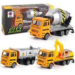 Motores de brinquedo on-line-Modelo de carro de veículo de engenharia dumper truck toy fire engine presente para crianças menino favor de alta qualidade 4 47bl d1