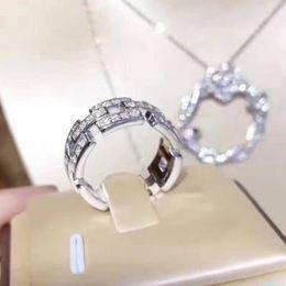 Geschenk-tage aus online-Voller Diamant vereist Luxus Designer Schmuck Frauen Ringe Valentinstag Geschenk Herren Schmuck