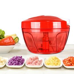 Мешалки онлайн-Многофункциональный ручной кухонный комбайн чоппер портативный блендер мясо овощи чеснок блендер мясорубка ручной миксер