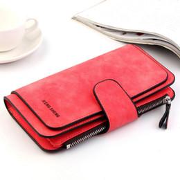carteira feminina de três vezes Desconto Multi-Função Feminina Carteira Feminina Cartão Multi-Card Bag Carteira Feminina Três-Fold Long-Style Bolsa