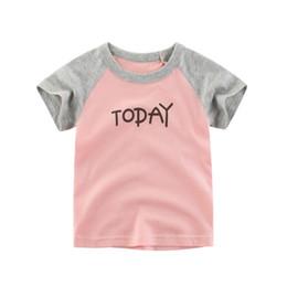tshirts garçons en bas âge Promotion New Hot Summer Toddler Enfants Vêtements Casual lettre