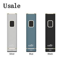 Caixa de mod três bateria on-line-Eleaf iTap Bateria Built-in 800mAh 30W Max Output Indicador de bateria de três cores intuitiva Caixa de Design de um botão Mod 100% Original
