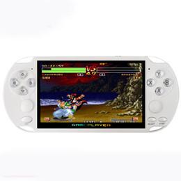 Портативная игровая консоль 8 ГБ X9 5-дюймовый экран Консоли Поддержка ТВ-выхода с поддержкой видеокамеры MP4 для аркадных игр GBA GBS cheap arcade games consoles от Поставщики игровые приставки