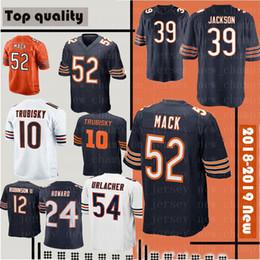 52 khalil mack 39 Eddie Jackson Mens Chicago Bears Jersey 58 Roquan Smith  17 Miller 29 Cohen 34 Payton 24 Howard 54 Urlacher Jerseys 9e24f5e44