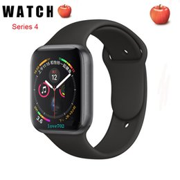 IWO Смарт часы серии 44mm 4 1to1 Bluetooth SmartWatch Heart Rate Monitor Спорт для Huawei Xiaomi iPhone х хз Goophone iwatch телефон часы от
