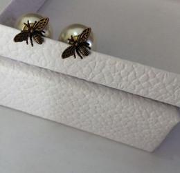 Мода серьга для женщин дизайнера пчелиных серьги аксессуаров ювелирных изделий серьги для свадьбы Предоставлять мешок для подарка бесплатной доставки от