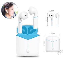 vivo-headset Rabatt 1PCS Wireless-Charging Headset P20 Bluetooth-Kopfhörer für Huawei Samsung Xiaomi Vivo Oppo Mini TWS Kopfhörer für iPhone PK i7 I7S i9S