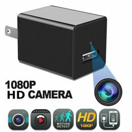 mini-usb-taste kamera Rabatt 1080P HD USB Stecker Ladegerät Kamera W841 US EU Ladegerät Wireless WIFI P2P IP Kamera AC Adapter Buchse Wifi Überwachungskamera Mit Kleinkasten