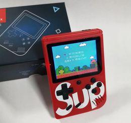 Consolas de jogos portáteis android on-line-Novo SUP Handheld Game Console Sup Plus Portátil Nostálgico Game Player 8 Bits 168 400 em 1 FC Jogos Cor Display LCD