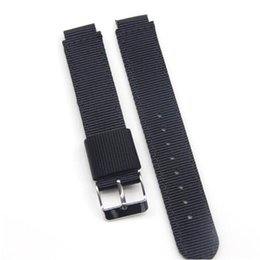 schwarze nylon armbänder Rabatt HUXIE Wasserdichte Uhrenarmbänder aus Nylon 15mm 16mm schwarz grün NATO Sports Bracelet FÜR Huawei Smartwatchzubehör