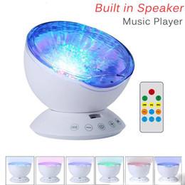 led illuminato tacchi alti  Sconti Ocean Wave cielo stellato Aurora LED Night Light Projector Luminaria lampada della novità USB Illusion Lampada Nightlight per il bambino dei bambini