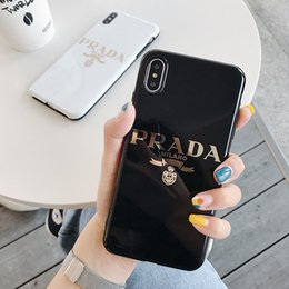 meizu mx5 cover Desconto One piece designer de luxo phone case para iphone xsmax max x 8 7 6 s plus moda tampa traseira phone case para presentes
