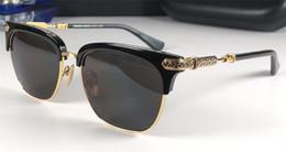 Gafas de sol reflectantes uv online-Nuevo popular retro hombre gafas de sol estilo punky VERT diseñador marco cuadrado retro con revestimiento de caja de cuero reflectante anti-UV lente de calidad superior