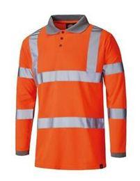 Оранжевые рубашки поло с длинным рукавом онлайн-DiHip надеется SA22077 футболка-поло высокого качества с длинными рукавами оранжевой футболки среднего размера