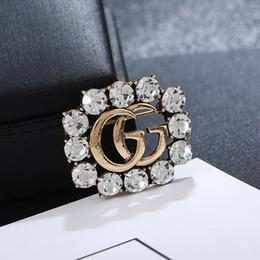 2019 camisola de inseto Abelha de abelha Broches de Diamante de Cristal Abelha de luxo Designer de Broches de Liga de Zinco Strass Moda Feminina Insetos Pinos de Camisola