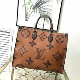 xl sacolas de armazenamento a vácuo Desconto moda 2020 luxurys quentes Genuine bolsa de couro senhoras bolsa de desenhistas da bolsa mensageiro topo Popular das mulheres marcas Totes