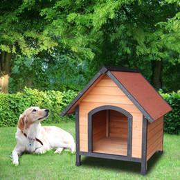 Dog House Pet Наружная Кровать В Приюте Дома Погода Питомник Водонепроницаемый от