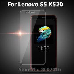 2019 lenovo s5 2Pcs Vetro per Lenovo S5 Vetro temperato Lenovo S5 2018 K520 Pellicola proteggi schermo per S 5 64GB Pellicola per cellulare lenovo s5 economici