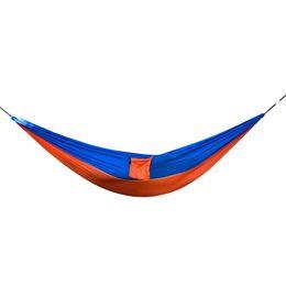 Argentina Logotipo personalizado De calidad superior 2 personas poliéster Paracaídas Nylon portátil ligero al aire libre Camping hamaca para dormir Suministro