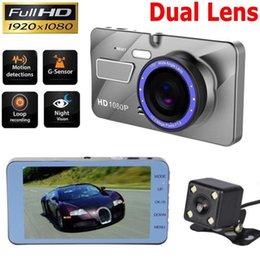 trasmettitore video wifi android Sconti HD 170 gradi angolo di rotazione registratore automatico registratore multidirezionale registrazione binoculare ad alta chiarezza dvr auto doppia fotocamera
