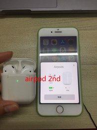 Высокое качество airPods 2-й чип H1 bluetooth 5.0 беспроводная зарядка сенсорный Siri двойной ухо наушники гарнитура с розничной коробке от Поставщики lenovo bluetooth наушники