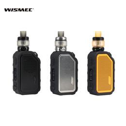 2019 cigarette bluetooth Wismec Active Kit avec Amor NS Plus 80W Mod Bluetooth Music 2100mAh Réservoir étanche 4,5 ml Cigarettes électroniques Kit de démarrage pour haut-parleur 100% authentique cigarette bluetooth pas cher