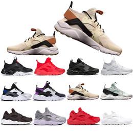 Kutu ile Huarache 4.0 Koşu Ayakkabıları Erkek Kadın Haki Nane Yeşil Balck Beyaz Kırmızı Erkek Spor Atletik Tasarımcı Sneakers Eğitmenler 36-45 cheap mint boxes nereden nane kutuları tedarikçiler