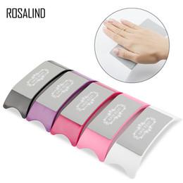 Hand Arm Rest Halbkreis Kissen Kissen Nail Art Design Maniküre Pflege Handauflagen
