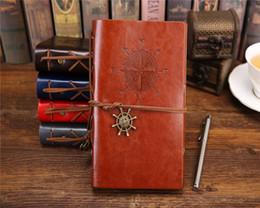 caderno panda Desconto curso jardim diário livros kraft papers revista caderno espiral do vintage Pirata cadernos escola estudante barato livros clássicos B6 frete grátis