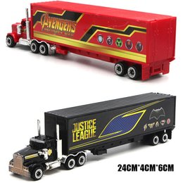justice toys Promo Codes - 1:64 Alloy Car Diecasts & Toy Vehicles The Avengers And Justice league Car Model Toy Car toys & hobbies Christmas Gift Y200318
