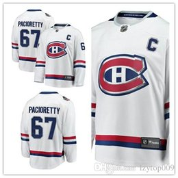 nhl jersey canadiens Rebajas Custom 2019 Men's Canadiens 67 Max Pacioretty Fanatics Branded White 2017 NHL 100 Classic Breakaway Player Montreal mujeres niños Jersey