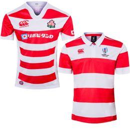 2019 t-shirts japanisch 2019 2020 Rugby World Cup Japan Trikots Startseite Weiß Rot Nationalmannschaft Japanisches Rugby League Trikot Hochwertige T-Shirts Größe S-XXXL günstig t-shirts japanisch
