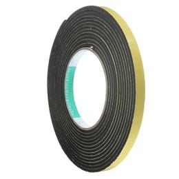 5 m * 10 mm * 2 mm / 3 mm adhesivo de una cara adhesivo impermeable tira de tira de goma de espuma de espuma para ventana sello desde fabricantes