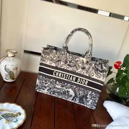 stili di nodo legato Sconti 8DIOR Moda donna grande capacità tote designer borse donna borsa donna famosa tela borse borsa tracolla donna 011