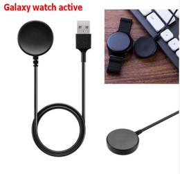 зарядное устройство для интеллектуальных часов Скидка Замена Smart Watch Зарядка для док-станции USB Зарядное устройство для Samsung Galaxy Watch Active R500 Беспроводное зарядное устройство USB-кабель