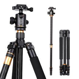 dslr bola cabeza cámara trípode Rebajas Trípode de aleación portátil fotográfico para cámara réflex digital DSLR Cabeza de bola Monopod Cojinete de carga variable 18KG