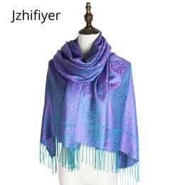 Жаккардовая шаль пашмины онлайн-модный шарф плетеный платок пашмина моджар накидки жаккардовые хиджабы зима кашмир пейсли хиджаб роковая глушитель украла обертывания палочка