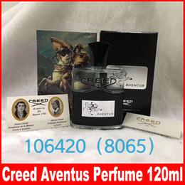huiles essentielles de diffuseur aromatique Promotion Creed aventus parfum de maquillage pour homme 120ml avec un temps de longue durée bonne qualité parfum haut parfum