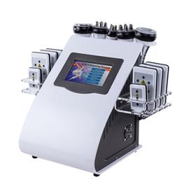 Haute Qualité Nouveau Modèle 6 En 1 40K Laser de Cavitation À Vide de Cavitation Ultrasonique 8 Plaquettes Lipo Laser Minceur Machine pour usage domestique ? partir de fabricateur