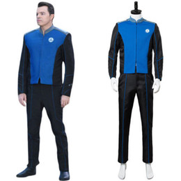 Le Orville Ed Mercer Capitaine Uniforme Cosplay Costume Costume Outfit Officier ? partir de fabricateur